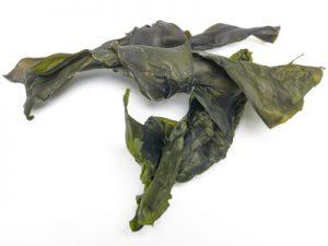 getrocknete Kombu-Algen